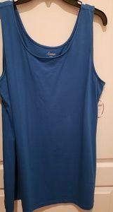 Soma by Chicos NWT Capri Blue - sz XL